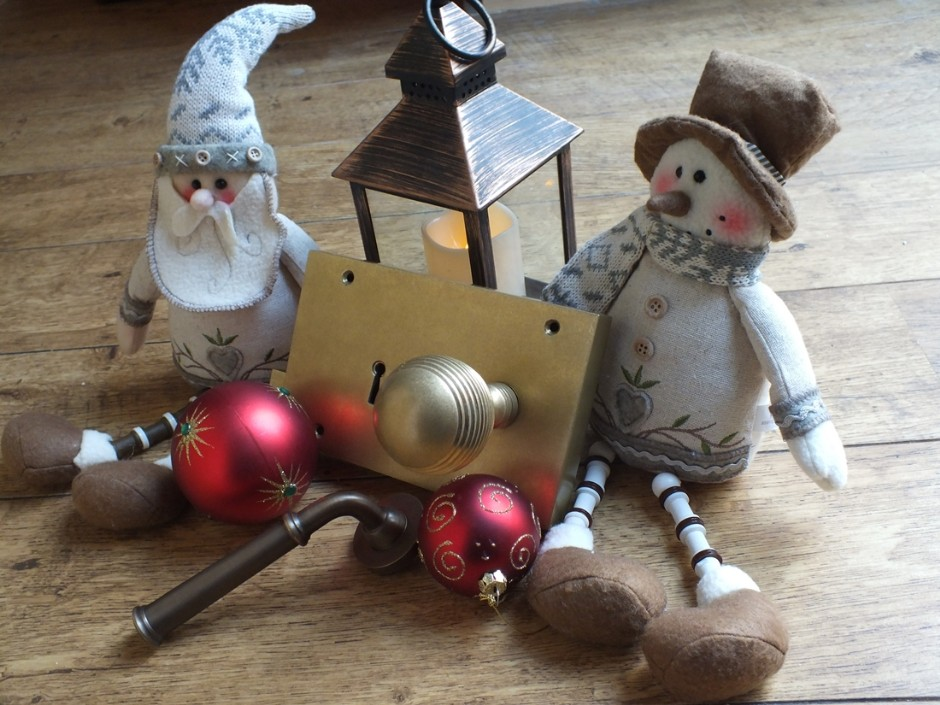 Christmas Vintage Door Furniture