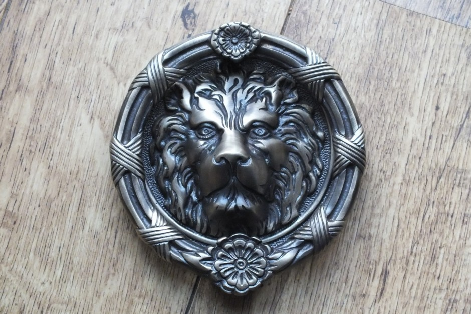 Victorian Lion Door Knocker