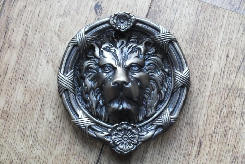 Victorian Lion Door Knocker & Victorian Lion Door Knocker | British Ironmongery