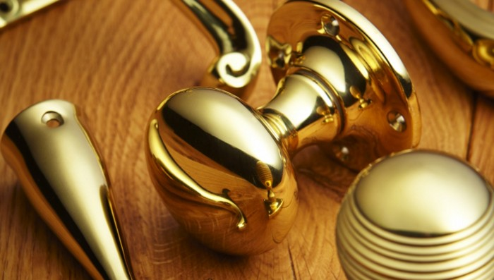 Polished Brass British Ironmongery