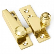 Reeded Knob Sash Fastener