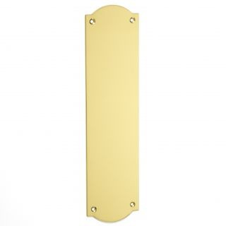 Ribbon Edge Finger Plate