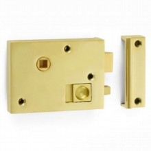 "4"" Rim Bathroom Latch"