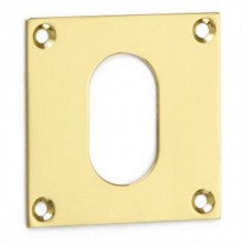 Square Escutcheon - Oval Profile