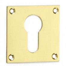 Square Escutcheon - Euro Profile[[[[