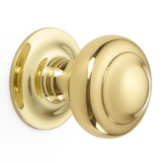 Rounded Centre Door Knob