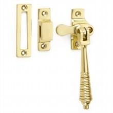 Locking Reeded Casement Fastener[[[[