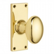 Oval Door Knob on Latch Backplate[[[[