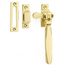 Locking Art Deco Casement Fastener