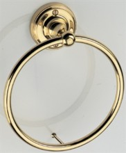 Constable Towel Ring on Rose
