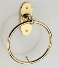 Constable Towel Ring on Backplate