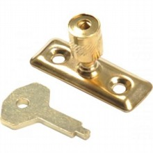 Cast Brass Locking Pin for Casement Stays