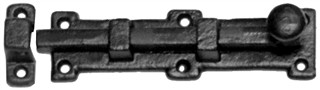 Antique Black Iron Door Bolt