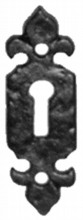 Antique Black Iron Escutcheon[[[[