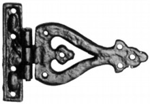 Antique Black Iron Hinge Set[[[[