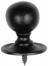 Antique Black Iron Cupboard Knob[[[[
