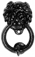 """Lion's Head"" Bedroom Knocker"