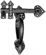 Double Sided Antique Thumb Latch