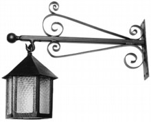 Antique Black Iron Wall Lamp[[[[