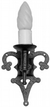 Antique Black Iron Single Wall Lamp[[[[