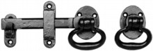 Antique Black Gate Latch Set