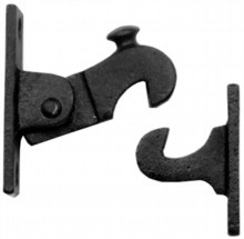 Antique Black Iron Door Catch[[[[