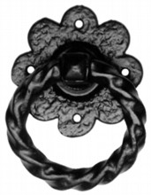 Antique Black Iron Gate Handle[[[[