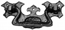 Antique Black Iron Drawer Pull[[[[
