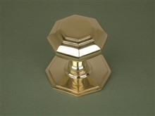 Small Octagonal Centre Door Knob[Small Octagonal Centre Door Knob[[[