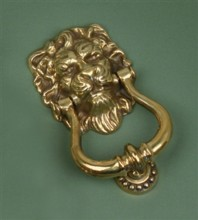 Lion's Head Door Knocker[Lion's Head Door Knocker[[[