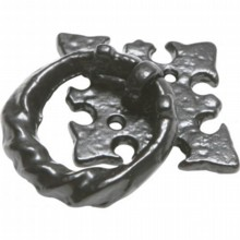 Antique Black Iron Drawer Handle