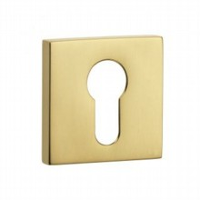Covered Square Escutcheon - Euro Profile[[[[
