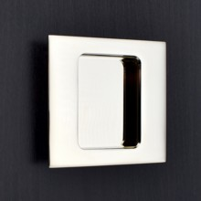 Square Flush Pull - Plain Edge
