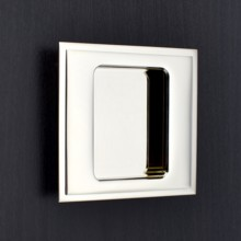 Square Flush Pull - Stepped Edge