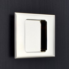 Square Flush Pull - Pillow Edge
