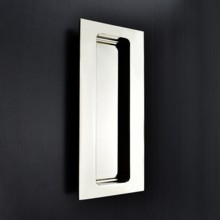 Rectangular Flush Pull - Plain Edge