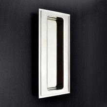 Rectangular Flush Pull - Stepped Edge