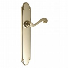 Victorian Door Handle on Large Latch Backplate[[[[