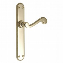 Princess Latch Handle on Rounded Plate