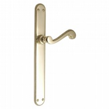 Georgian Handle on Rounded Lever Latch Plate[[[[