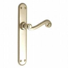 Georgian Latch Handles on Rounded Plate[[[[