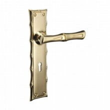Bamboo Door Handle - Lock[[[[