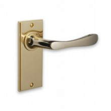 Lilliput British Made Door Handle on Plate[[[[