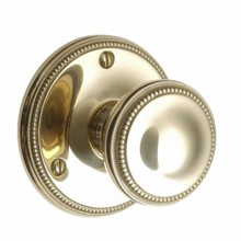 Georgian Door Knob on Round Rose[[[[