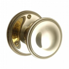 Quality Georgian Door Knob on Round Rose[[[[