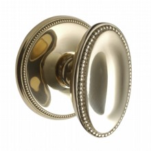 Georgian Oval Door Knobs on Covered Rose[[[[
