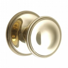 Brass Georgian Door Knobs on Covered Rose[[[[