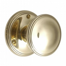 Brass Victorian Door Knobs on Round Rose[[[[