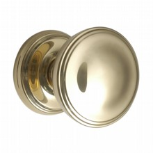 Large Constable Door Knob on Rose