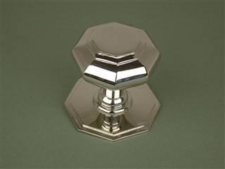 Small Octagonal Centre Door Knob